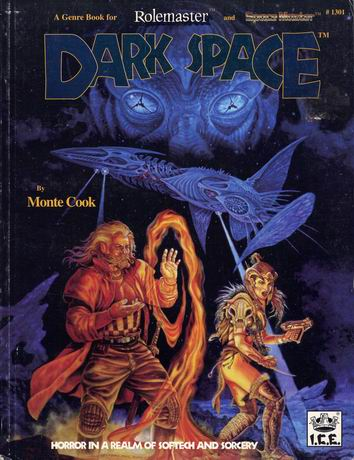The dark space setting consists of a group of twenty